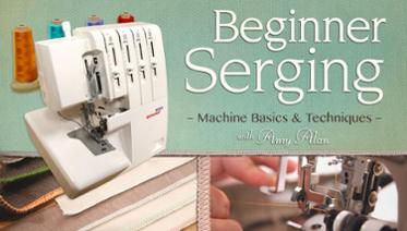 Beginner Serger Class from Craftsy image