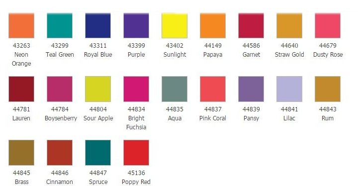 Maxilock Thread Colors Chart 4 Image